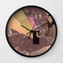 high into the sky Wall Clock