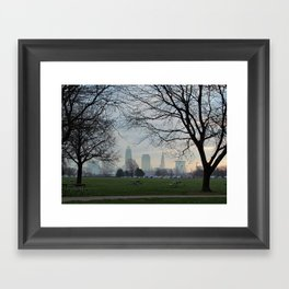Good Morning, Cleveland Framed Art Print