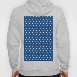 Polka Dots Blue #retro #vintage #60s #50s #minimal #art #design #kirovair #buyart #decor #home Hoody