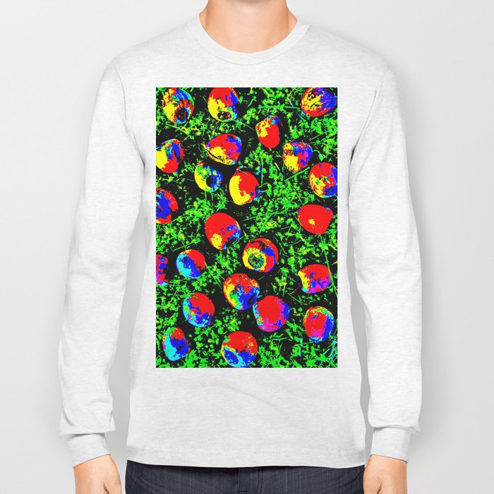 Colorful Nuts Long Sleeve T-shirt