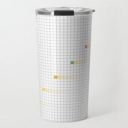 Checked Pattern_L Travel Mug