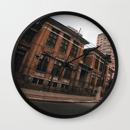 The Silent Place Wall Clock