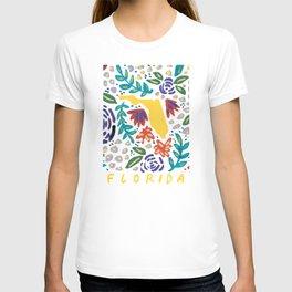 Florida + Florals T-shirt