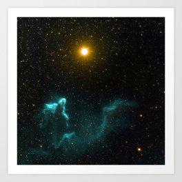 Gamma Cassiopeia Nebula Art Print