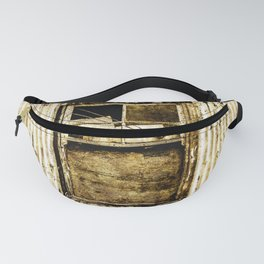 Window in a tin wall Fanny Pack