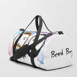 Beard Boy: Buttons and Snaps Duffle Bag