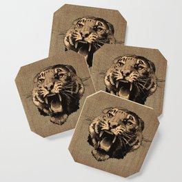 Vintage Tiger Coaster