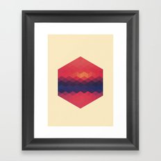 Exagon V.1 Framed Art Print