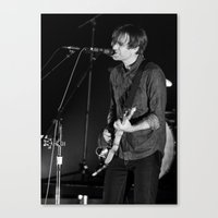 death cab for cutie Canvas Prints featuring Death Cab For Cutie by Adam Pulicicchio Photography