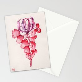 Vortex Floral Pattern from the Impossible Florals Series Stationery Cards