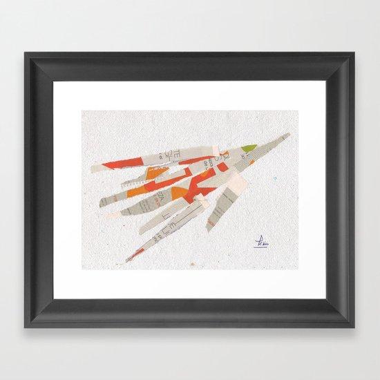 Collage 890 Framed Art Print