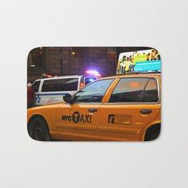 Taxi Service Bath Mat