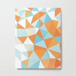 Goldfish Tris Metal Print