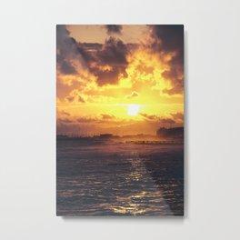 SunStorm Metal Print