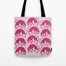 Wild Cats - Pink Tote Bag