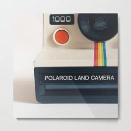 POLAROID 1000 Metal Print