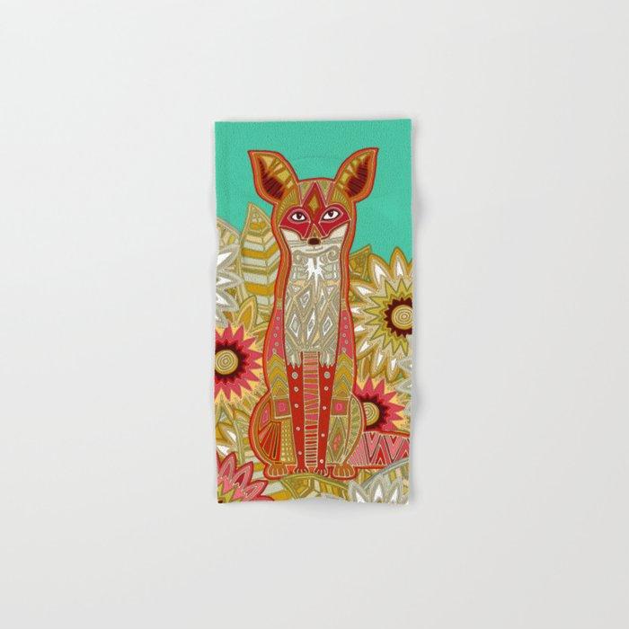 garden fox Hand & Bath Towel