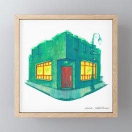 NYC Pride: Julius' Framed Mini Art Print