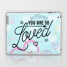 You are So Loved - Cute Fox and Cat Love Laptop & iPad Skin