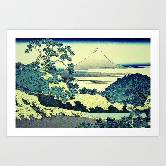 Crossing at Kina Art Print