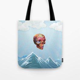 Skull Passes By Tote Bag