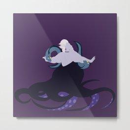Ursula and her eels Metal Print