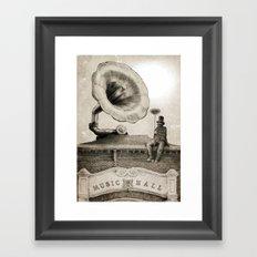 The Chimney Sweep (Monochrome) Framed Art Print