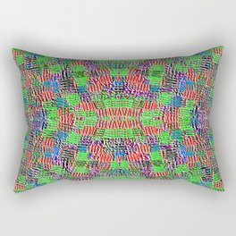 Needlepoint B Rectangular Pillow