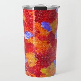 Red Fusion Travel Mug