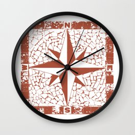 Windorose Wall Clock