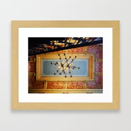 Villa D. Framed Art Print