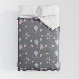 Cotton Candy Twist Comforters