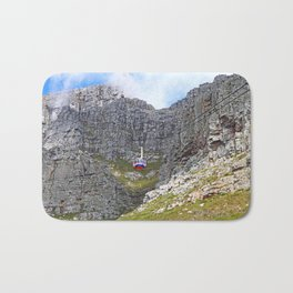 At Table Mountain, Cape Town South Africa Bath Mat