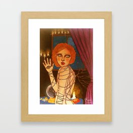 Seer Framed Art Print