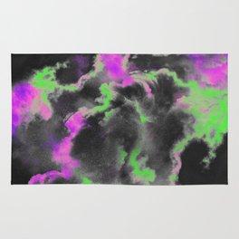 Green and purple sky Rug