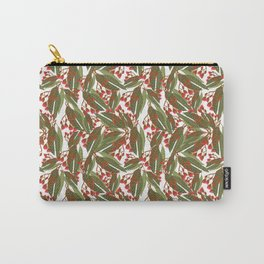 Flowering Gum - White Carry-All Pouch