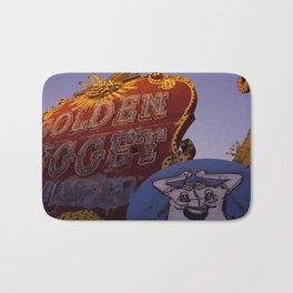 Golden Nugget Sign Bath Mat