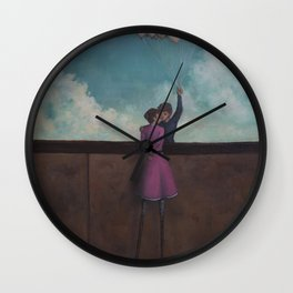elevated Wall Clock