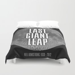 Last Giant Leap Duvet Cover
