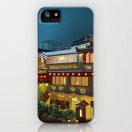 Tea house Juifen iPhone Case