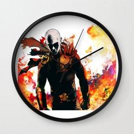 Onepunch Man Wall Clock