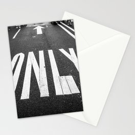 The Only Way Stationery Cards