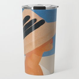 Summer Hat Travel Mug