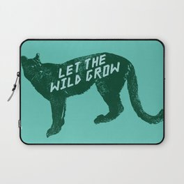 Let The Wild Grow Laptop Sleeve