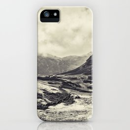 Mono Toned Lake District iPhone Case