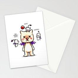 WOL Chibi Moogle Suit Stationery Cards