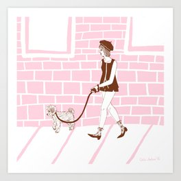 Afternoon Stroll Art Print