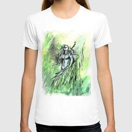 Ortus. Green angel. T-shirt