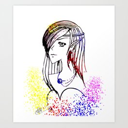 circlet Art Print
