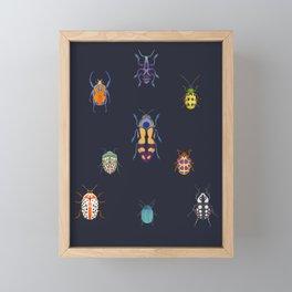 Beautiful bugs Framed Mini Art Print